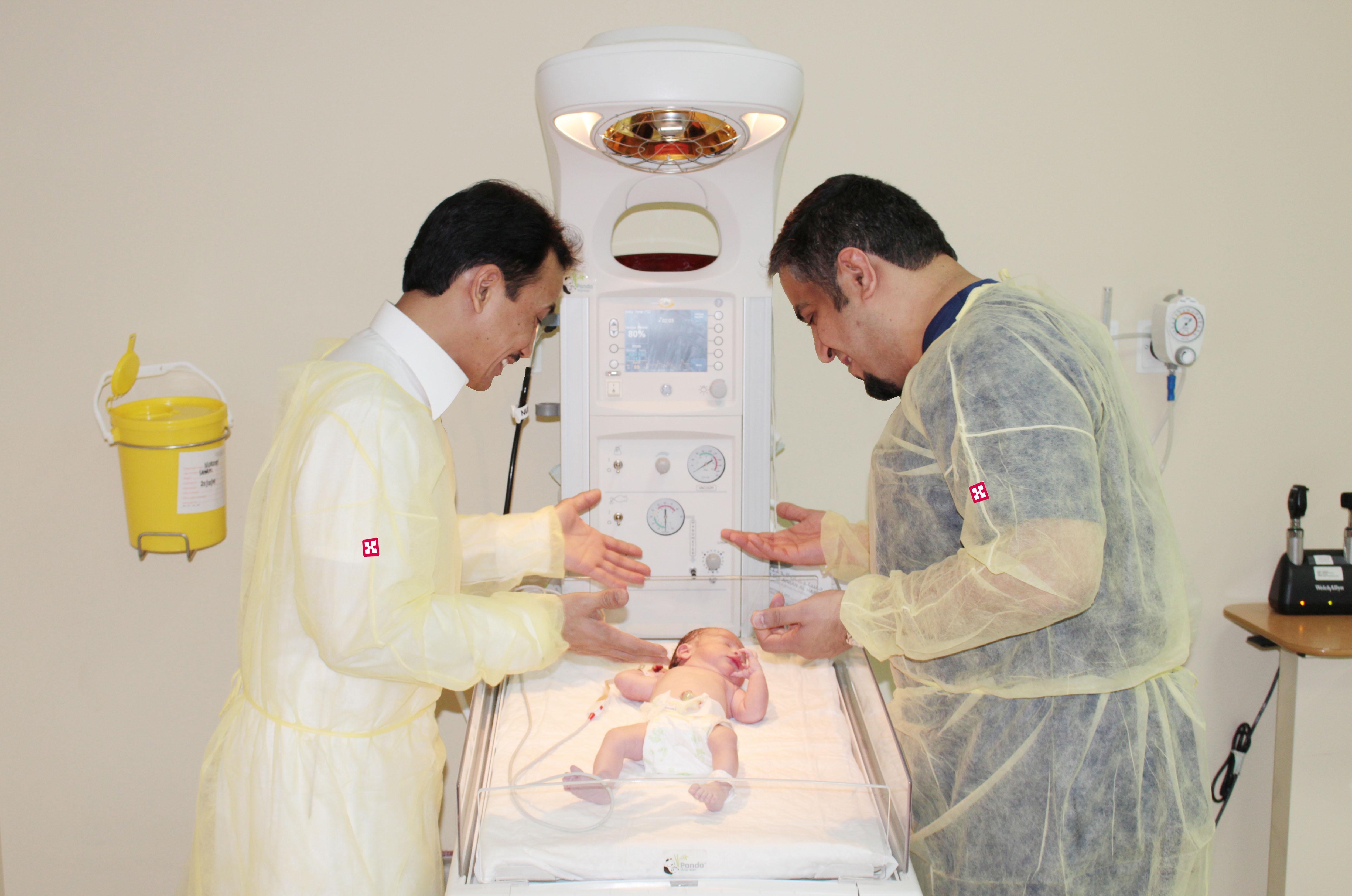 مواطن يستقبل مولوده الأول في مستشفى د سليمان الحبيب